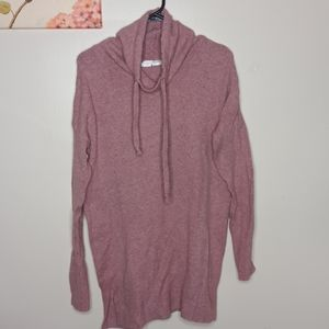Ruby Moon Sweater Pink Lace Long Sleeves M